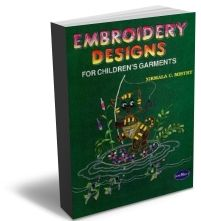 Embroidery Designs For Children Garment