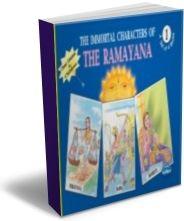 Immortal Characters of Ramayana (English) - Set of 4 Books