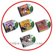Set Of 5 New Gujarati Comedy Natak VCDs