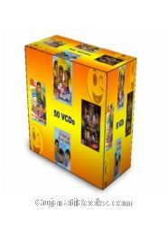 Complete Gujarati Comedy Drama (Set Of 50 VCDs)